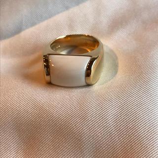ポンテヴェキオ(PonteVecchio)のポンテヴェキオ ホワイトストーン K18 リング(リング(指輪))