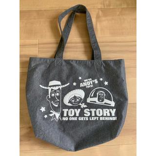 トイストーリー(トイ・ストーリー)のトイストーリー トートバッグ バッグ グレー(トートバッグ)