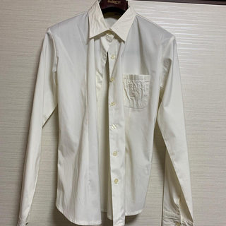 プラダ(PRADA)のPRADAプラダ シャツ ホワイト(シャツ/ブラウス(長袖/七分))