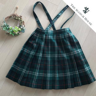 ザスコッチハウス(THE SCOTCH HOUSE)のスコッチハウス タータンチェックのプリーツスカート♡サイズ120(スカート)