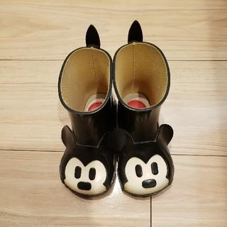 ダイアナ(DIANA)の限定品 ダイアナとミッキーのコラボ レインブーツ 長靴(長靴/レインシューズ)