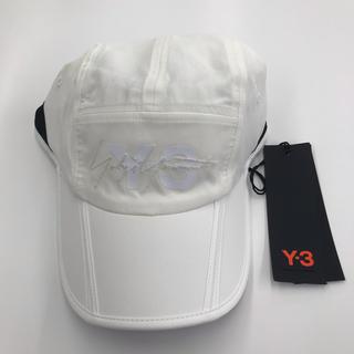 ワイスリー(Y-3)の新品未使用 Y-3 キャップ ホワイト(キャップ)
