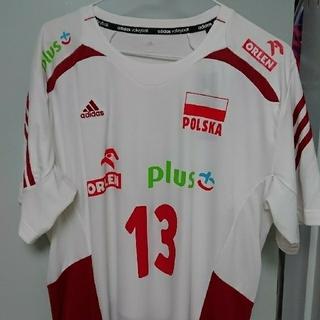 アディダス(adidas)のadidas バレーボール ポーランド代表 クビアク選手 Lサイズ (新品)(バレーボール)