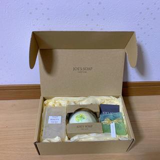 ロクシタン(L'OCCITANE)の新品 未開封 JOE'S SOAP グラスソープとバスボムのセット(ボディソープ / 石鹸)