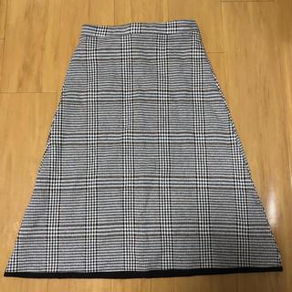 ロンハーマン(Ron Herman)のZARA チェックロングスカート(ロングスカート)