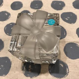 ティファニー(Tiffany & Co.)のティファニークリスタルボックス(小物入れ)