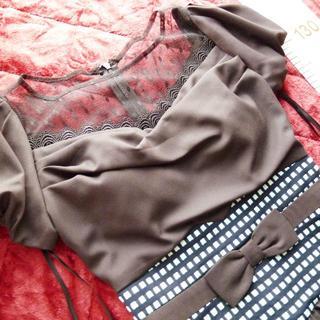 デイジーストア(dazzy store)の新品*大人綺麗目ドレス(ミディアムドレス)