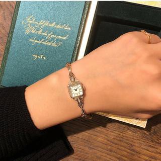 アガット(agete)のアガット クリスマス限定時計(腕時計)