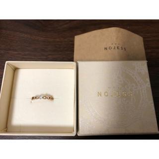 ノジェス(NOJESS)のNOJESS ピンキーリング ムーンストーン ノジェス ピンクゴールド(リング(指輪))