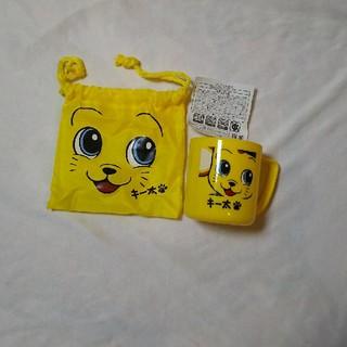 ハンシンタイガース(阪神タイガース)のキー太🐾  コップ&巾着袋(キャラクターグッズ)