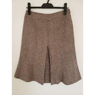 ハナエモリ(HANAE MORI)のHANAE MORI ツィードスカート(ひざ丈スカート)