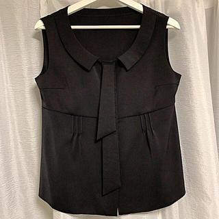 フォクシー(FOXEY)のフォクシー トップス ブラウス 42(カットソー(半袖/袖なし))