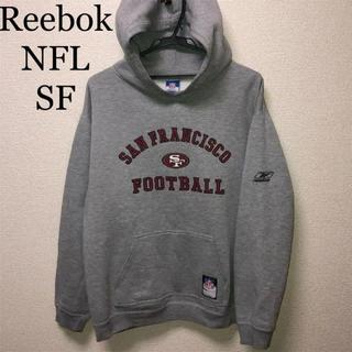 リーボック(Reebok)のリーボック サンフランシスコ・フォーティナイナーズ パーカー (パーカー)