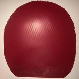 バタフライ(BUTTERFLY)のバタフライ テナジー80 赤 特厚(卓球)