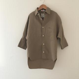 マディソンブルー(MADISONBLUE)の美品 マディソンブルー  J.BRADLEY CUFF SHIRT シャツ(シャツ/ブラウス(長袖/七分))
