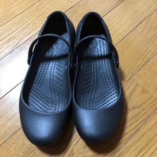 クロックス(crocs)のクロックス アリスワークフラット w7 靴 パンプス(ハイヒール/パンプス)