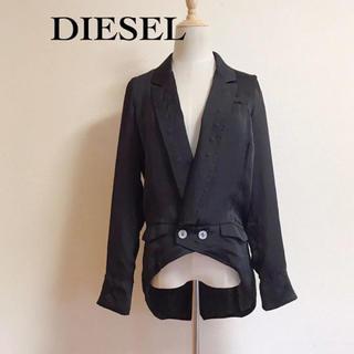 ディーゼル(DIESEL)のDIESEL ポリエステル スワローテールジャケット サイズXS(テーラードジャケット)