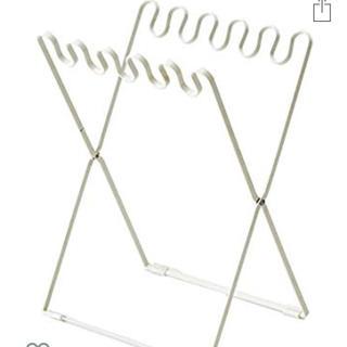 ベルメゾン(ベルメゾン)のベルメゾン ゴミ箱 ゴミ用ラック 折り畳み可能 仕分け可能 格安出品 ホワイト(収納/キッチン雑貨)