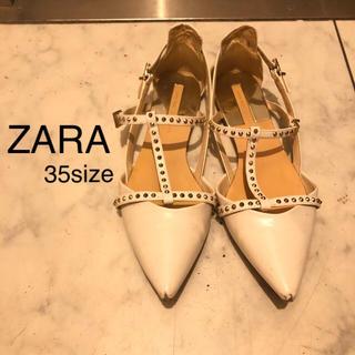 ザラ(ZARA)のZARA フラットシューズ  35(ハイヒール/パンプス)