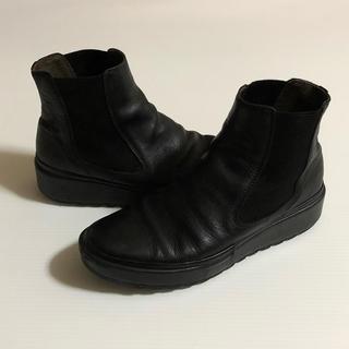 サヤ(SAYA)のSAYA サイドゴア  ショートブーツ(ブーツ)