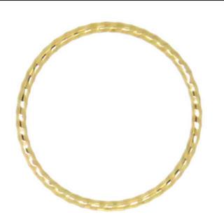10金 華奢 ピンキーリング 3号(リング(指輪))