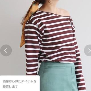 イエナスローブ(IENA SLOBE)のカラーボーダーTシャツ(カットソー(長袖/七分))