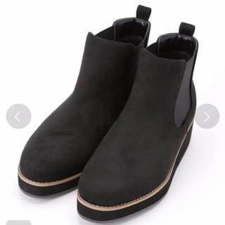 ナノユニバース(nano・universe)のナノユニバース  サイドゴア ショート ブーツ ブラック(ブーツ)