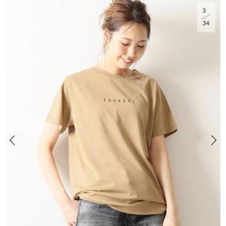 イエナ(IENA)の新品 Spick and Span プリント Epanoui ロゴTシャツ  (Tシャツ(半袖/袖なし))