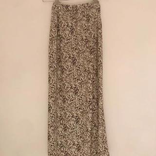 ロキエ(Lochie)のヴィンテージ  レオパードスカート jantiques (ロングスカート)