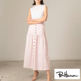 ロンハーマン(Ron Herman)の今期☆Ronherman ロンハーマン ライムイエロー スカート☆ロングスカート(ロングスカート)