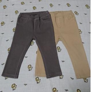 ムジルシリョウヒン(MUJI (無印良品))の無印良品 レギンスパンツ サイズ80 2本(パンツ)