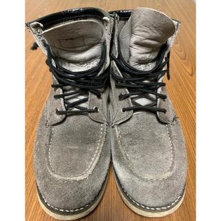 レッドウィング(REDWING)のレッドウィング  ビームス beams 別注 ブーツ 灰色 8 1/2E(ブーツ)