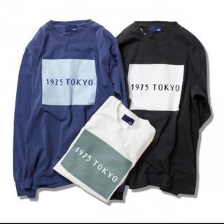 トゥデイフル(TODAYFUL)のキャナルジーン 1975 TOKYO ロンT ブルー(Tシャツ(長袖/七分))