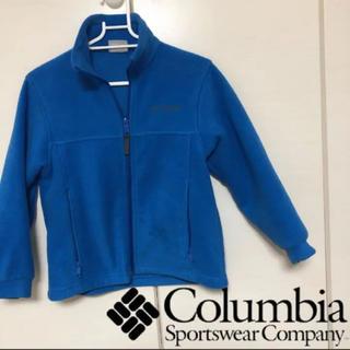 コロンビア(Columbia)のColumbia コロンビア 140 秋冬用 フリース パーカー キッズ(ジャケット/上着)