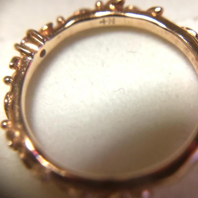 NOJESS(ノジェス)のノジェス  ピンキーリングk10 PG レディースのアクセサリー(リング(指輪))の商品写真
