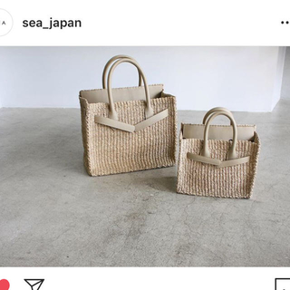 シー(SEA)のsea カゴバーキン(かごバッグ/ストローバッグ)