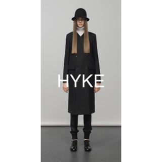 ハイク(HYKE)のHYKE ビーバー フェルトハット 1 黒(ハット)