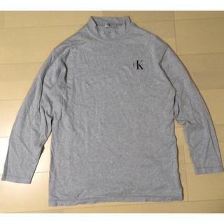 カルバンクライン(Calvin Klein)のcalvin klein カルバンクライン ハイネック ロゴ 長袖 カットソー(Tシャツ/カットソー(七分/長袖))