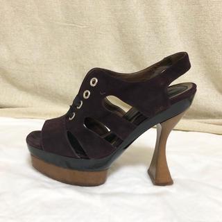 マルニ(Marni)のMARNI マルニ 靴 プラットフォーム ハイヒール サンダル(ハイヒール/パンプス)