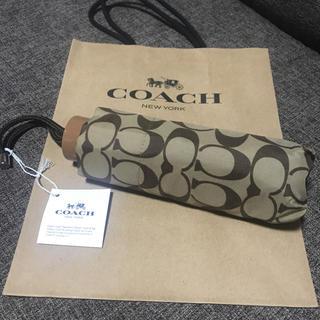 COACH - 【新品】コーチ☆折りたたみ傘