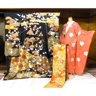 吾妻徳穂踊りの世界 吉澤友禅振袖×川島織物袋帯×襦袢セット(振袖)