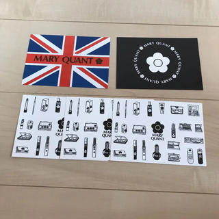 マリークワント(MARY QUANT)のマリークワント ポストカード5枚セット(ノベルティグッズ)