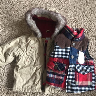 ギャップ(GAP)のmi--様専用 男の子冬物お洋服6点セット まとめ売り 80(その他)
