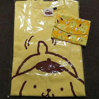 サンリオ(サンリオ)のポムポムプリン 限定 Tシャツ ティッシュケース(Tシャツ/カットソー(半袖/袖なし))