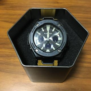 ジーショック(G-SHOCK)の708なおりん様専用G-SHOCK G-STEEL GST-W120L-1BJF(腕時計(デジタル))