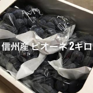信州産 ぶどう ピオーネ 2kg (フルーツ)