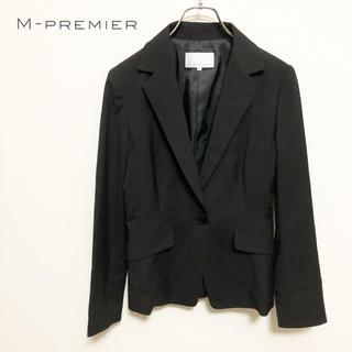エムプルミエ(M-premier)の【M-PREMIER】シンプル テーラードジャケット 美品(テーラードジャケット)