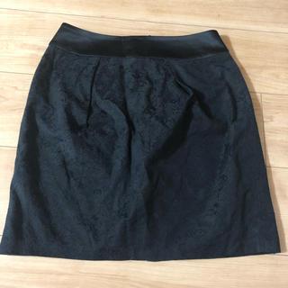 エヌナチュラルビューティーベーシック(N.Natural beauty basic)のタイトスカート 黒(ミニスカート)