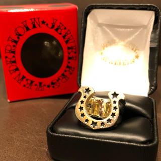 テンダーロイン(TENDERLOIN)の最終値下【美品】テンダーロイン  ホースシューリング 8K 10号(リング(指輪))