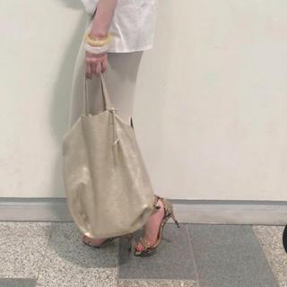 ドゥーズィエムクラス(DEUXIEME CLASSE)のウィムガゼット 今季新作ほぼ新品marco masi ラメトートバッグ(トートバッグ)